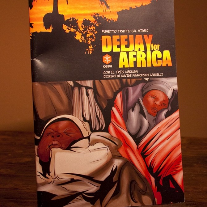 Fumetto Deejay for Africa