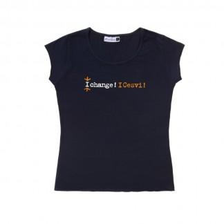 T-shirt I Change I Cesvi Donna