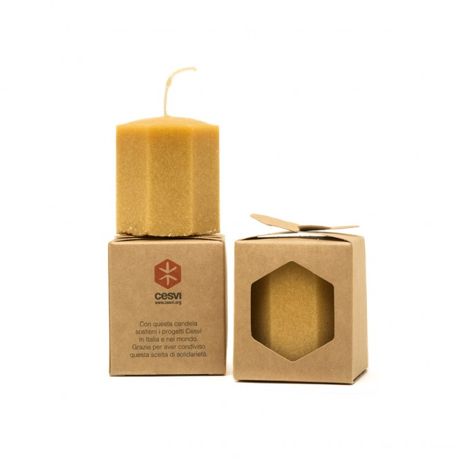 candela avorio vaniglia