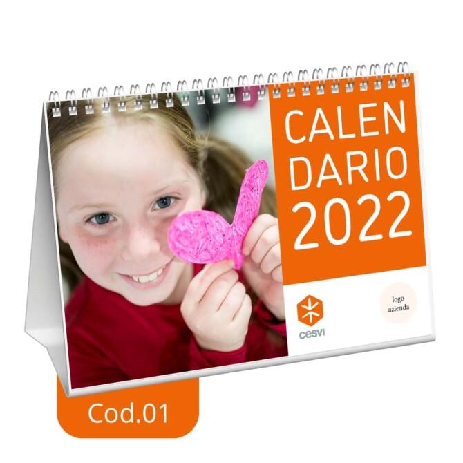 Calendario da tavolo 2022