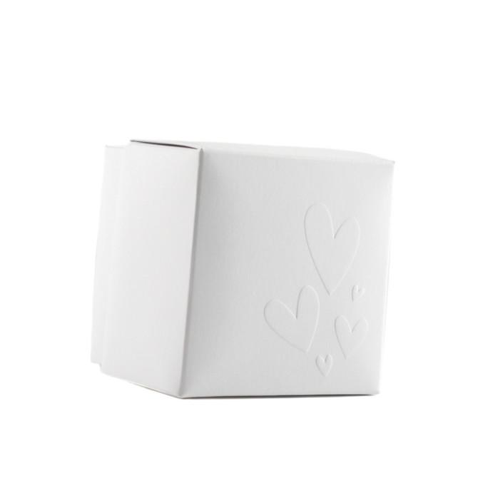 scatoline portaconfetti bianca