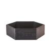 vaschetta portaoggetti nero